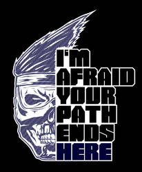 I'm afraid your path ends here (Shadow Jago Var.) by Obsolution