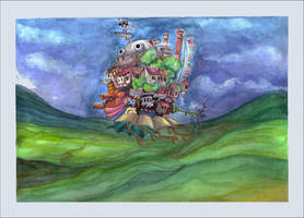 Howls Moving Castle by BirdSophieBlack