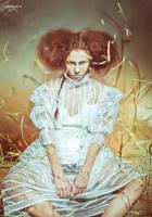 swamp witch  III by BirdSophieBlack