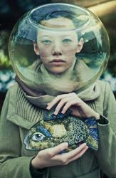 cosmic fish by BirdSophieBlack