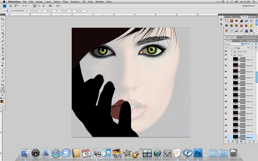 Desenhando Lomita 01 by AndersonMathias