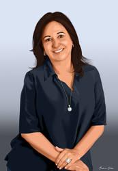 Senadora Katia Abreu by AndersonMathias