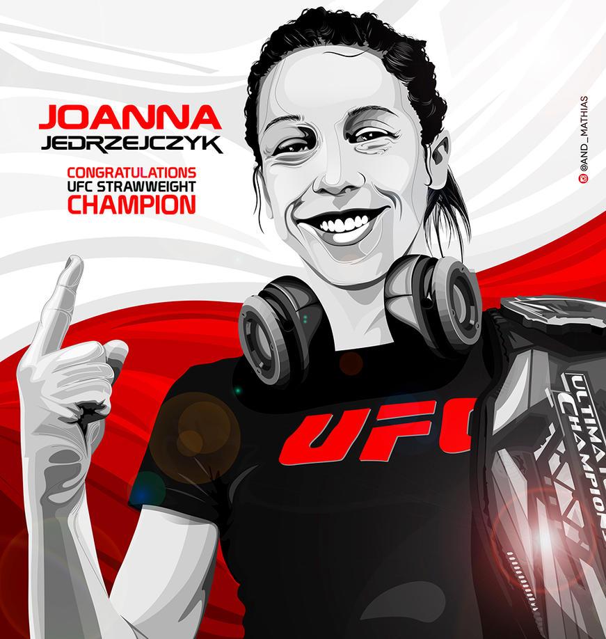 Joanna Jedrzejczyk by AndersonMathias