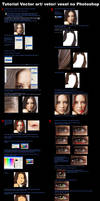 tutorial vector art  photoshop by AndersonMathias