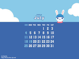 It's the month of July