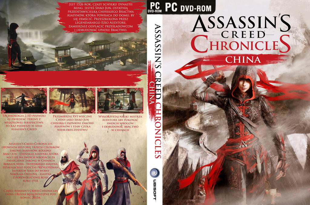 Assassin S Creed Chronicles China Cover By Kamlotac On Deviantart
