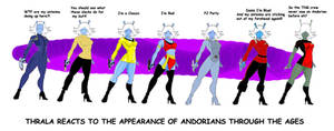 Andorians through the ages