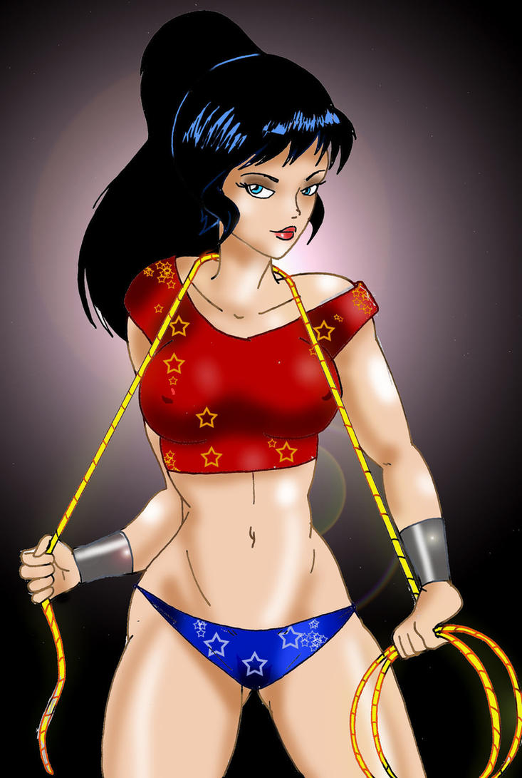 Wonder Girl Donna Troy by Inspector97