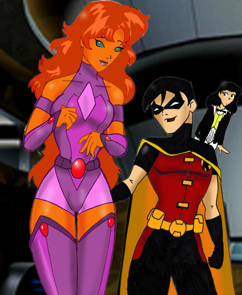 Young Justice Starfire by Inspector97