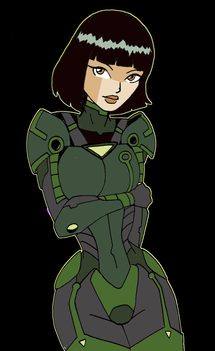 Julie in SHIP Armor by Inspector97