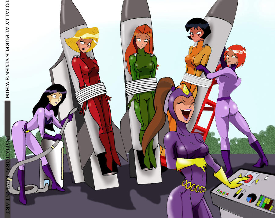 Totally Spies Tape Bound OTM Gagged by Goldy0123 on DeviantArt