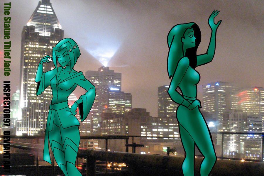 Jade's Curse: The Statue Thief Jade by Inspector97