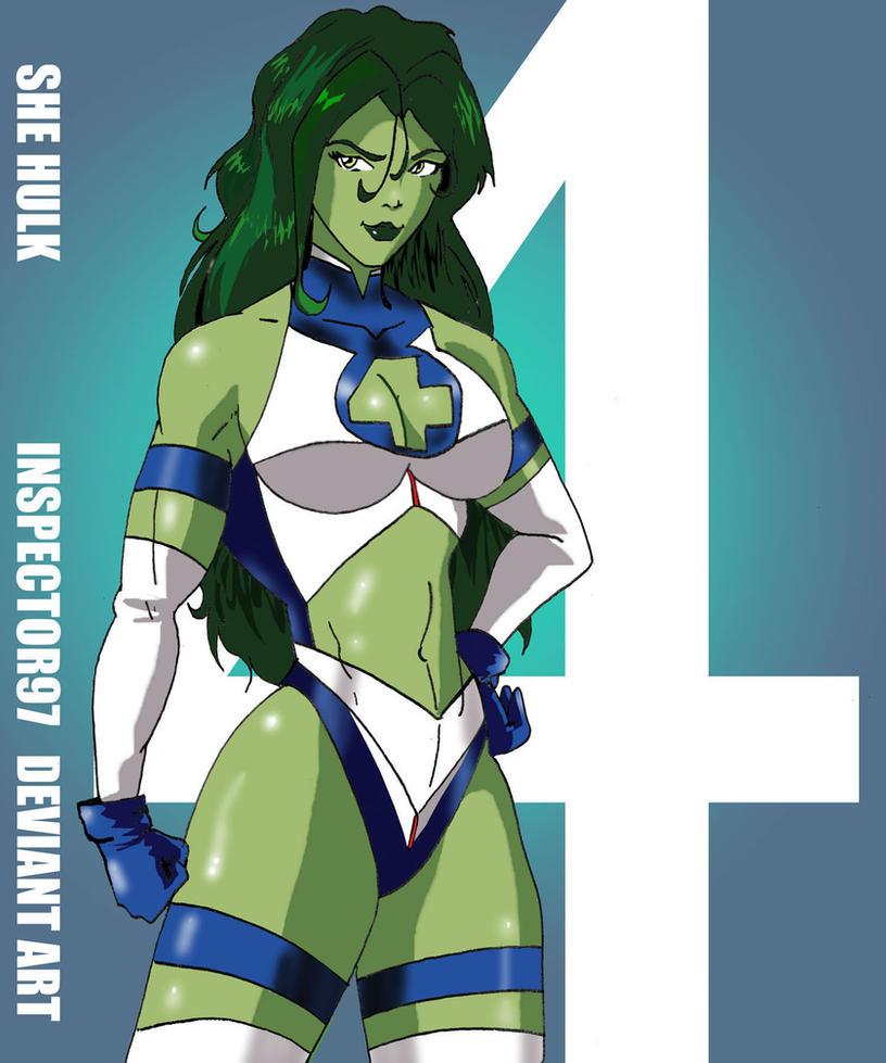 Fantastic Four: She Hulk by Inspector97