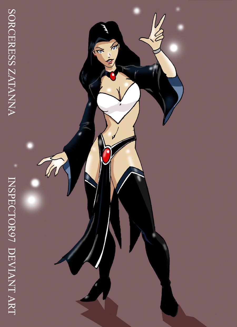 Sorceress Zatanna by Inspector97