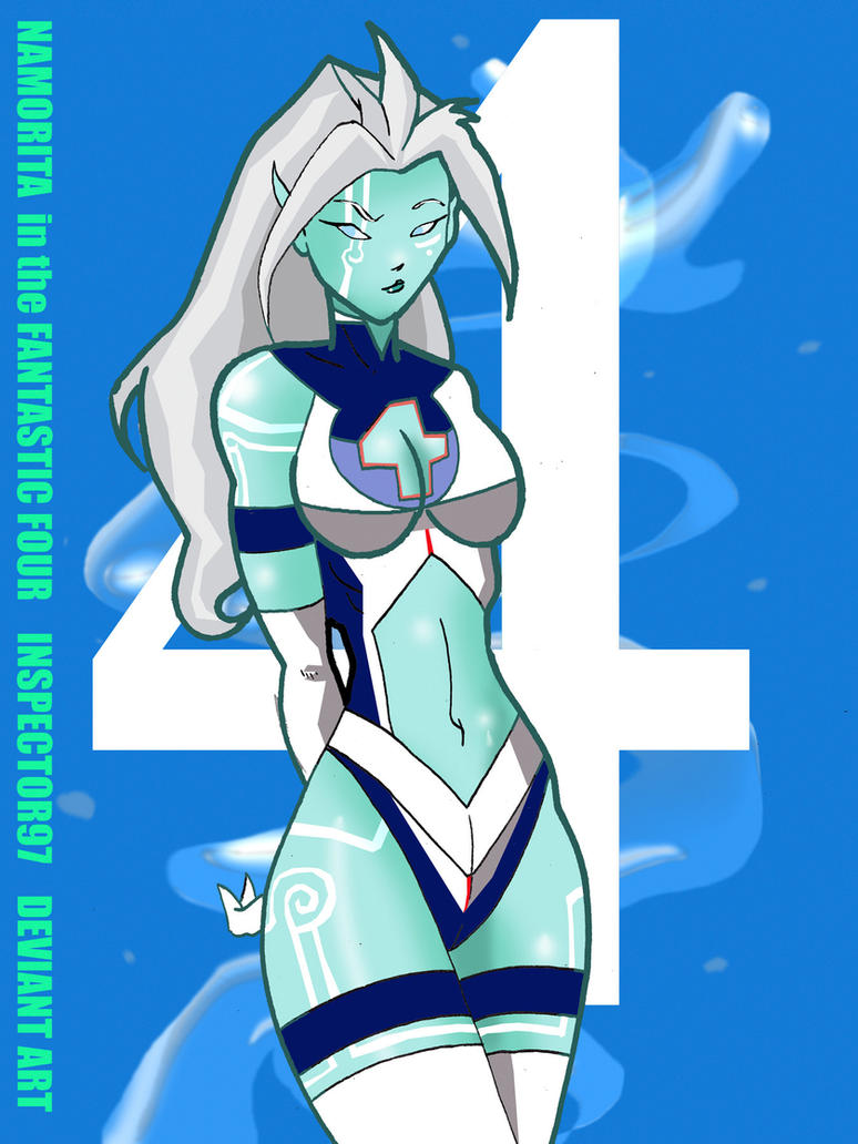 Namorita in the Fantastic Four by Inspector97