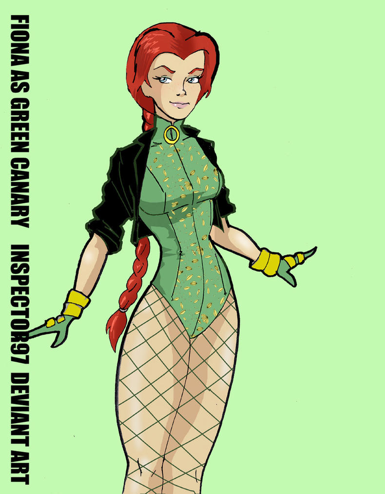 Fiona as Green Canary by Inspector97