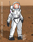 Jess on Mars