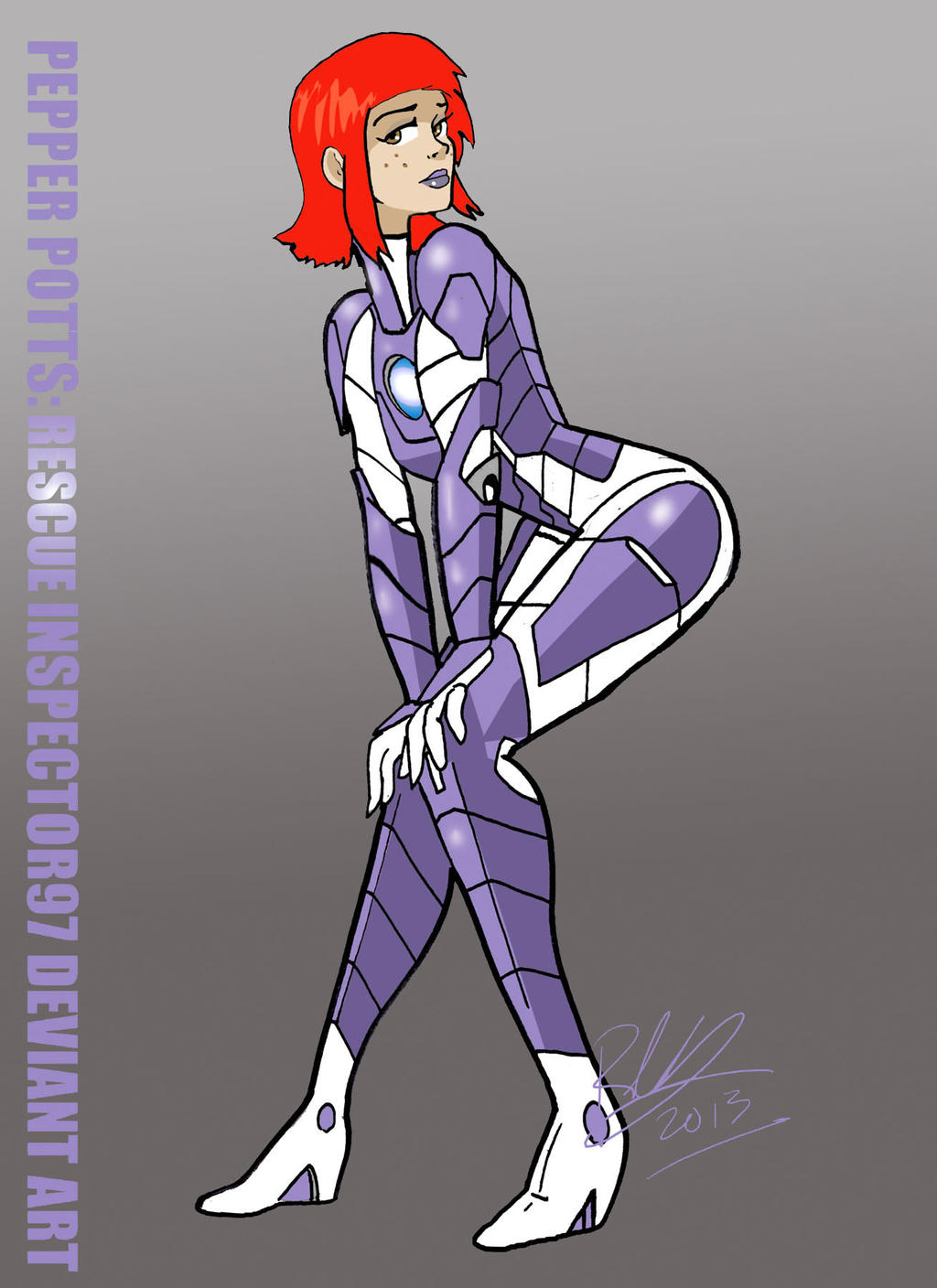 Pepper Potts: Rescue by Inspector97