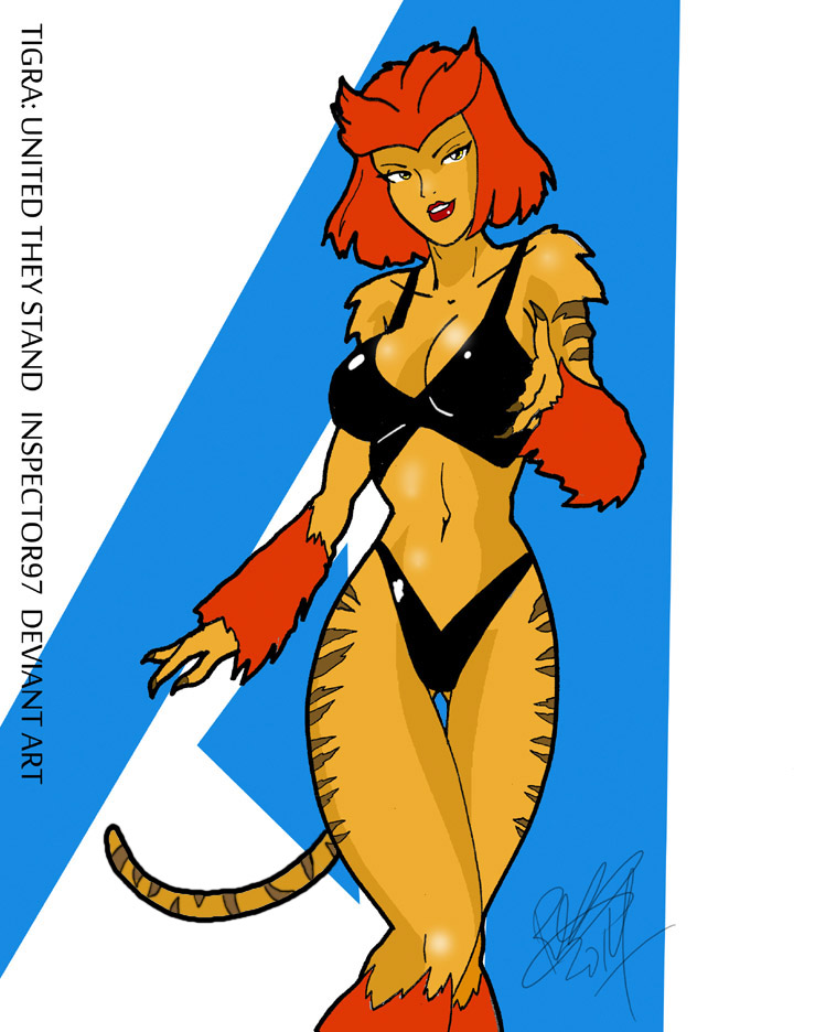 Tigra United They Stand By Inspector97 On Deviantart