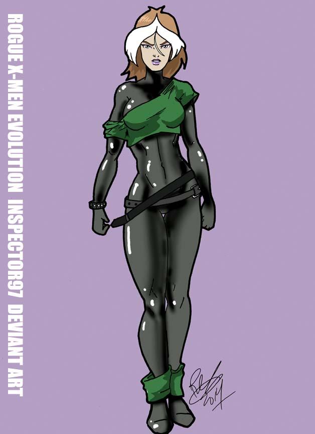 Rogue X-Men Evolution by Inspector97