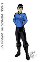 Spock by Inspector97