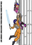 Ezra and Sabine: STAR WARS REBELS