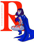 R is for Raven