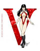 V is for Vampirella by Inspector97