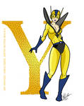 Y is for Yellow Jacket