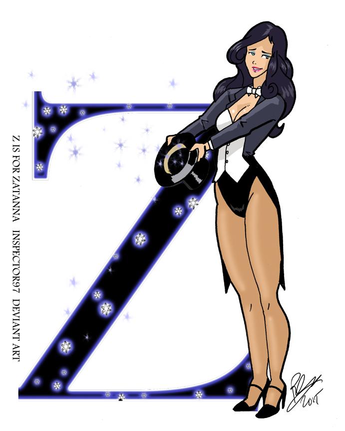 Z is for Zatanna