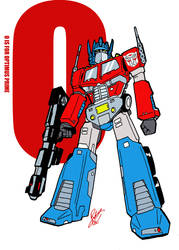O is for Optimus Prime by Inspector97