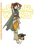 Princess Leia: Boushh the Bounty Hunter by Inspector97