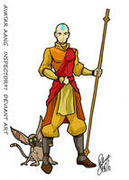 Avatar Aang by Inspector97