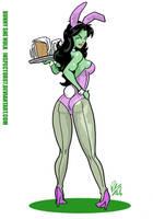 She Hulk Bunny by Inspector97