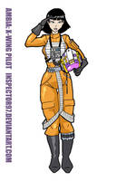 Ambia X-Wing Pilot by Inspector97