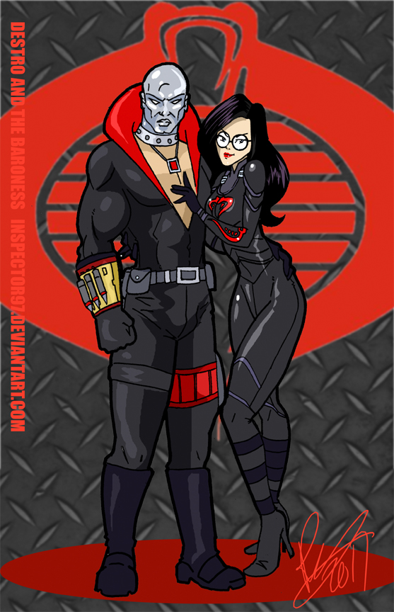 Destro And The Baroness By Inspector97 On Deviantart