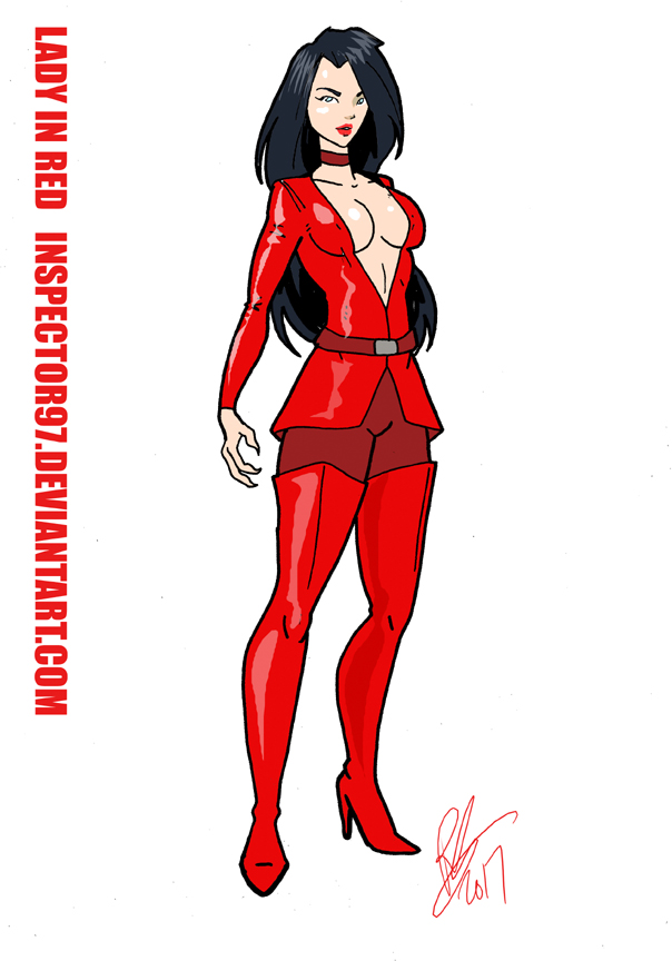 Lady in Red by Inspector97