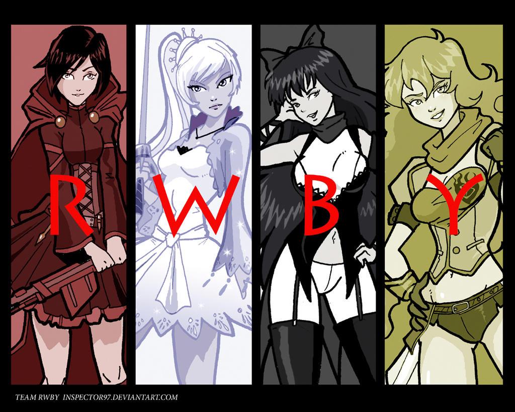 Team RWBY by Inspector97