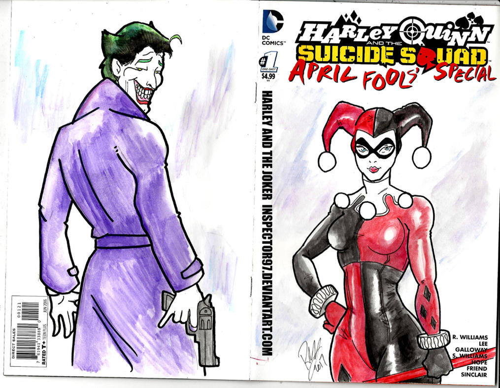 Harley Quinn Cover by Inspector97