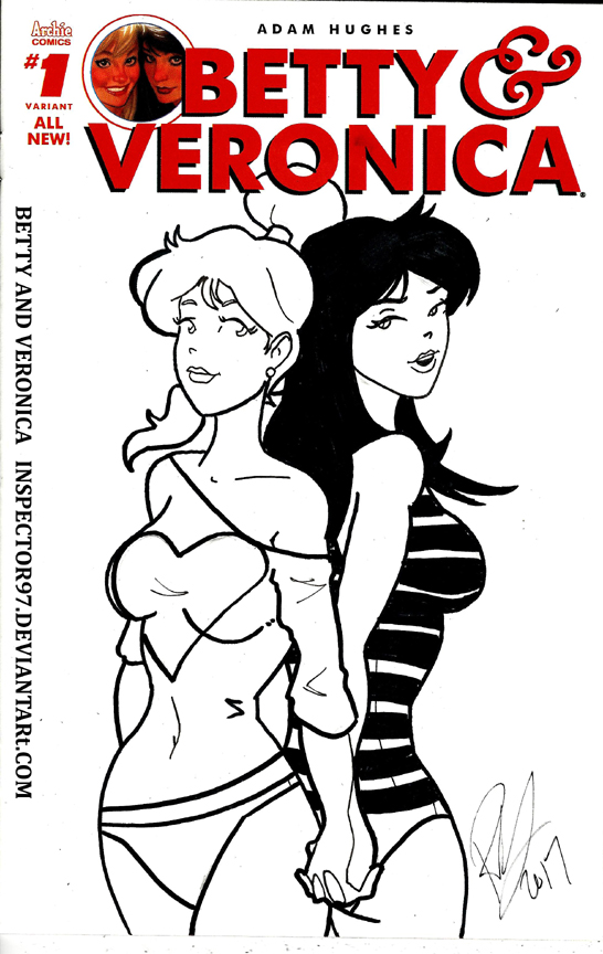 Betty and Veronica Cover by Inspector97