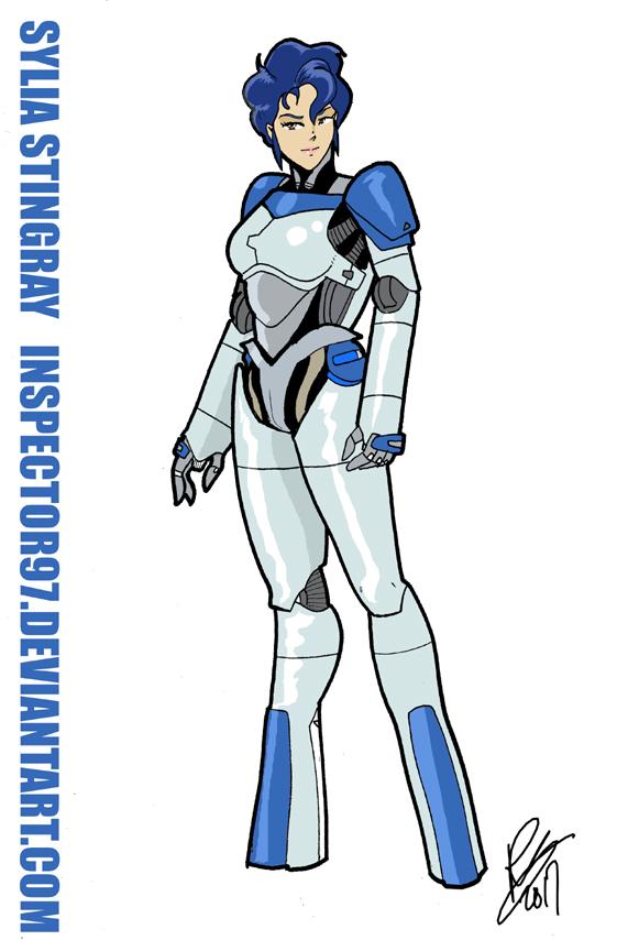 Sylia Stingray Hardsuit by Inspector97
