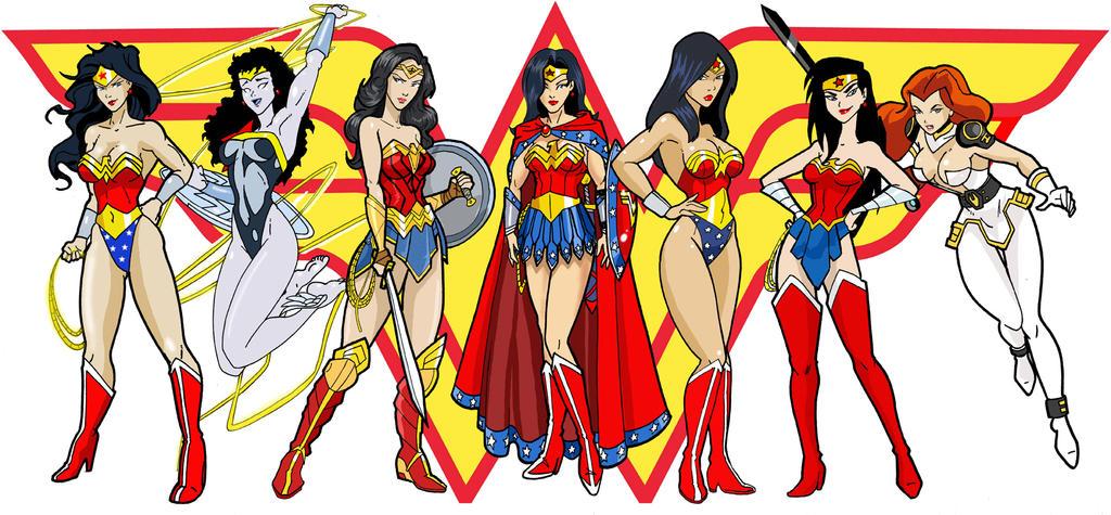Wonder Women by Inspector97