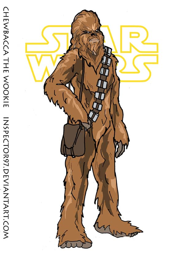 Chewbacca the Wookie by Inspector97