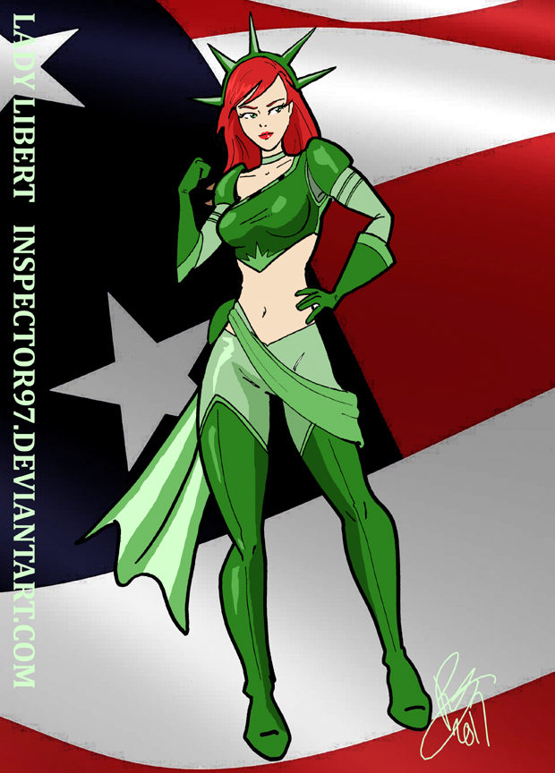 Lady Liberty by Inspector97