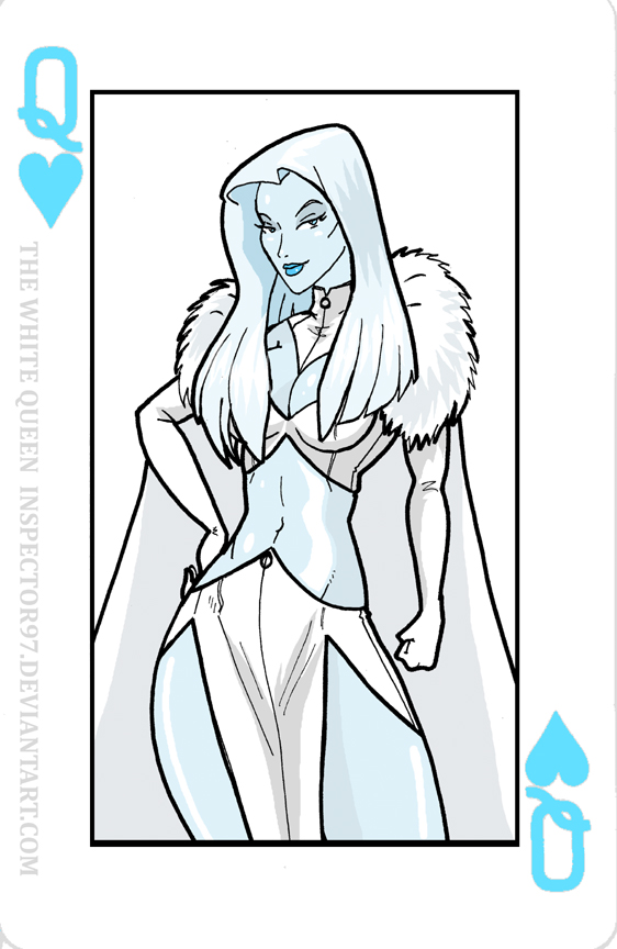The White Queen Card by Inspector97