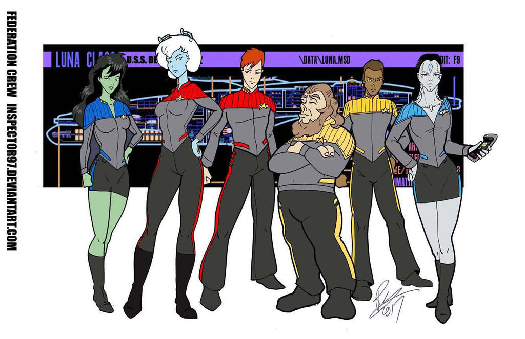 Crew of the USS Despina by Inspector97