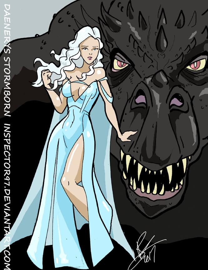 Daenerys Stormborn by Inspector97