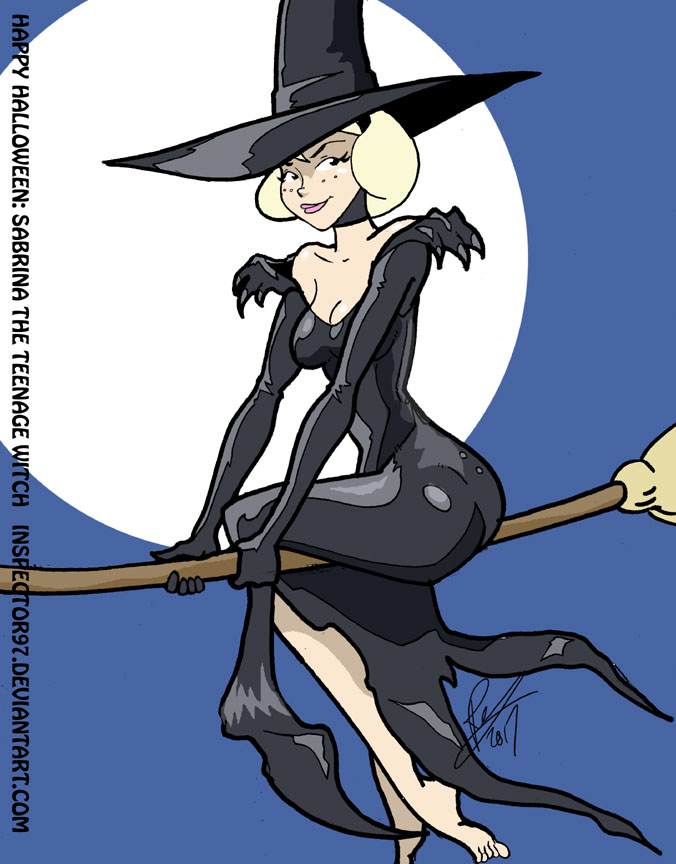Sabrina the Teenage Witch by Inspector97