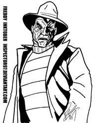 Freddy Inktober by Inspector97