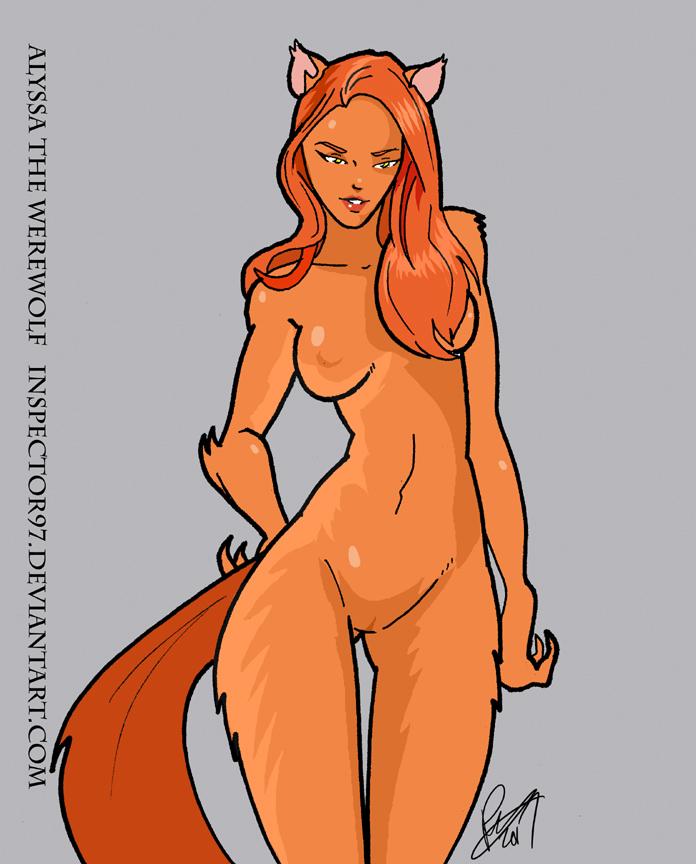 Alyssa the Werewolf by Inspector97